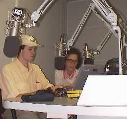Ben at the VOA studios