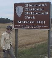 Ben and National Park Sign