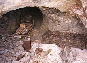 The first mining site